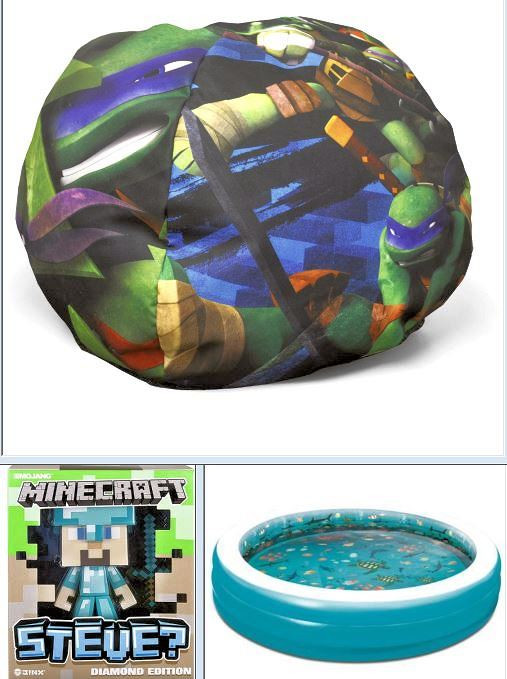 Superb Wholesale Pallet Of Kids Toys Pools Bean Bag Chairs Tmnt Minecraft Brand New Overstock Manifested Ocoug Best Dining Table And Chair Ideas Images Ocougorg