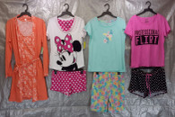 Wholesale Lot of 100 Assorted Pajama Sets Sleepwear Womens S-L Sizes