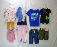 Wholesale Lot of 100 pieces Assorted Infant and Toddler Clothing Brand New