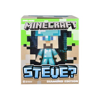 "Wholesale case of 4 Minecraft Diamond Steve 6"" Vinyl Figure Brand new overstock"