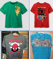 Wholesale lot of 100 Children Boy Shirts Tops Brand New Overstock