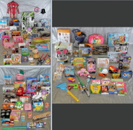 Wholesale Manifested Pallet of Kids Toys & Collectibles 123 items Pallet #2