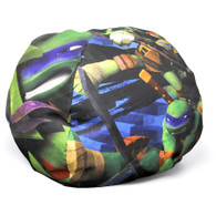 Pallet of 48 Nickelodeon Teenage Mutant Ninja Turtles Mini Round Bean Bag Brand New Overstock
