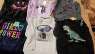 Wholesale lot of Childrens Boy Girl Sweatshirts Brand New Overstock 60 pcs