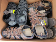 Wholesale Lot of Eddie Bauer Bump Toe and River Sandals New