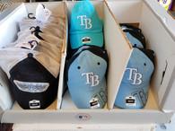 Wholesale Lot of Mens Tampa Bay Rays Baseball Caps Hats Brand New MLB