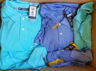 Wholesale Lot of Mens Stretch Cotton Polo Shirts Brand New