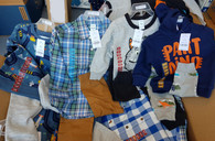 Wholesale Lot of Boys Infant Toddler Carter's 2 Piece Top and Pant Sets Brand New