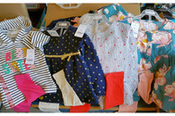 Wholesale Lot of Girls Infant Toddler Carter's 2 Piece Top and Legging Sets Brand New