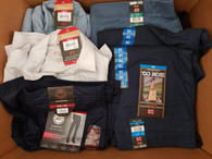 Wholesale Lot Mens Womens Clothing Shorts Shirts Pants More Brand New