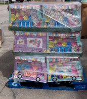 Wholesale Pallet of Ice Cream Truck Classic Sweet Treats 27 Pc Sets Brand New