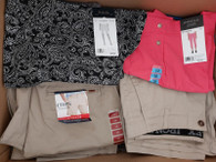 Wholesale Mixed Lot of Women Men Clothing PJs Tops Bottoms More Brand New
