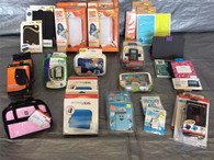 Wholesale Lot of Assorted Carrying Cases For Assorted Game Consoles, Approx 30 PCS