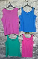 Wholesale Sample Lot Assorted Brand New Plus Size Womens Clothing Tops Only 50 Pcs