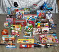 Wholesale Lot of Kids Toys & Collectibles Approx 40 items! Lot #23
