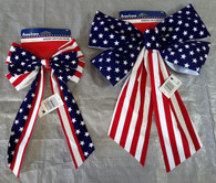 Wholesale Lot 4th of July Memorial Independence Day Flag Bows Brand New 165 Pcs