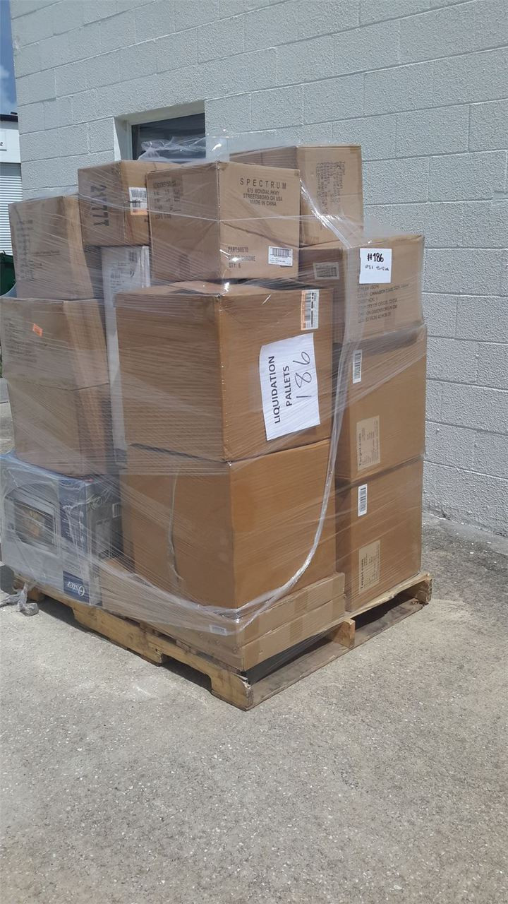 Wholesale MANIFESTED Pallet of OVERSTOCK Brand New Mixed Items #5
