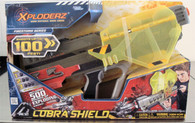 Wholesale Case of 3 Xploderz Cobra Shield Blaster Gun Firestorm Series Role Playset Brand New