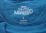 Wholesale Lot of 137 Disney My Little Mermaid Blue T-shirts Mixed Kid Children sizes manifested Brand New Overstock