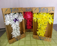 Wholesale Lot of 4 Memorial Day Cemetery Flowers Cross Shaped