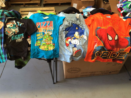 Wholesale Lot of Boys Clothing