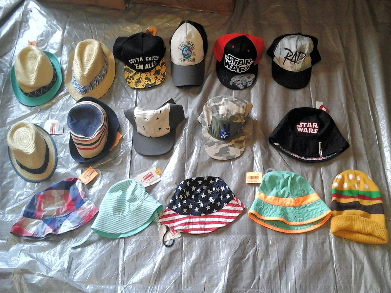 ef88577aa Wholesale Lot of 85 Children Infant Toddler Boy Girl Hats Caps Brand New