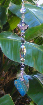 Multi Malachite Suncatcher Designs by Imogen ~ Protection & Balance ~