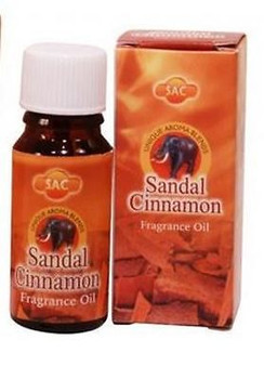 SAC Sandal Cinnamon Aroma Oil 10 ML 1/3 Ounce Wicca Pagan