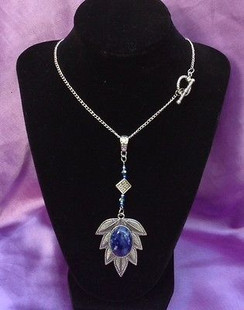Stunning Necklace with Sodalite Stone by Imogen Designs