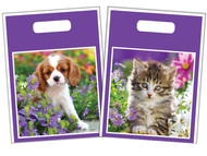 "FCTOTE1 - 9""x12"" Full-Color Plastic Tote"