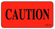 CS-15 Cage Stickers - Caution