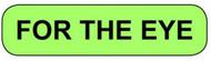 C-7 Medication Instruction Sticker - For The Eye