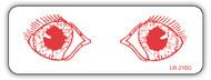 LR-210G Exam Room Label - Eye Exam