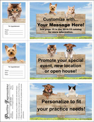 3DCMIX38 - 3 Up Reminder Cards Personalized