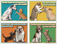 4DENTALMIX3  - 4 Up Reminder Cards