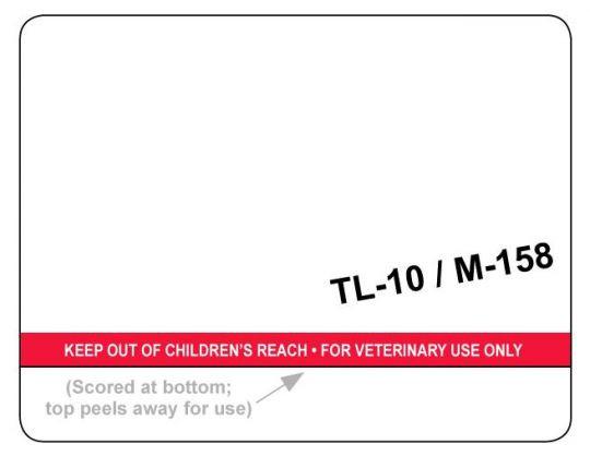TL-10/M-158 Dymo Pharmacy Labels