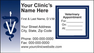 VBC SA101 - Sticker Appointment Card
