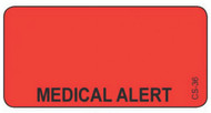 CS-36 Cage Stickers - Medical Alert