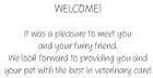 WELCOMEDC11 - Standard Message
