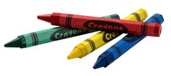 CRAYONS - 4 colors per pack, 5 packs/unit