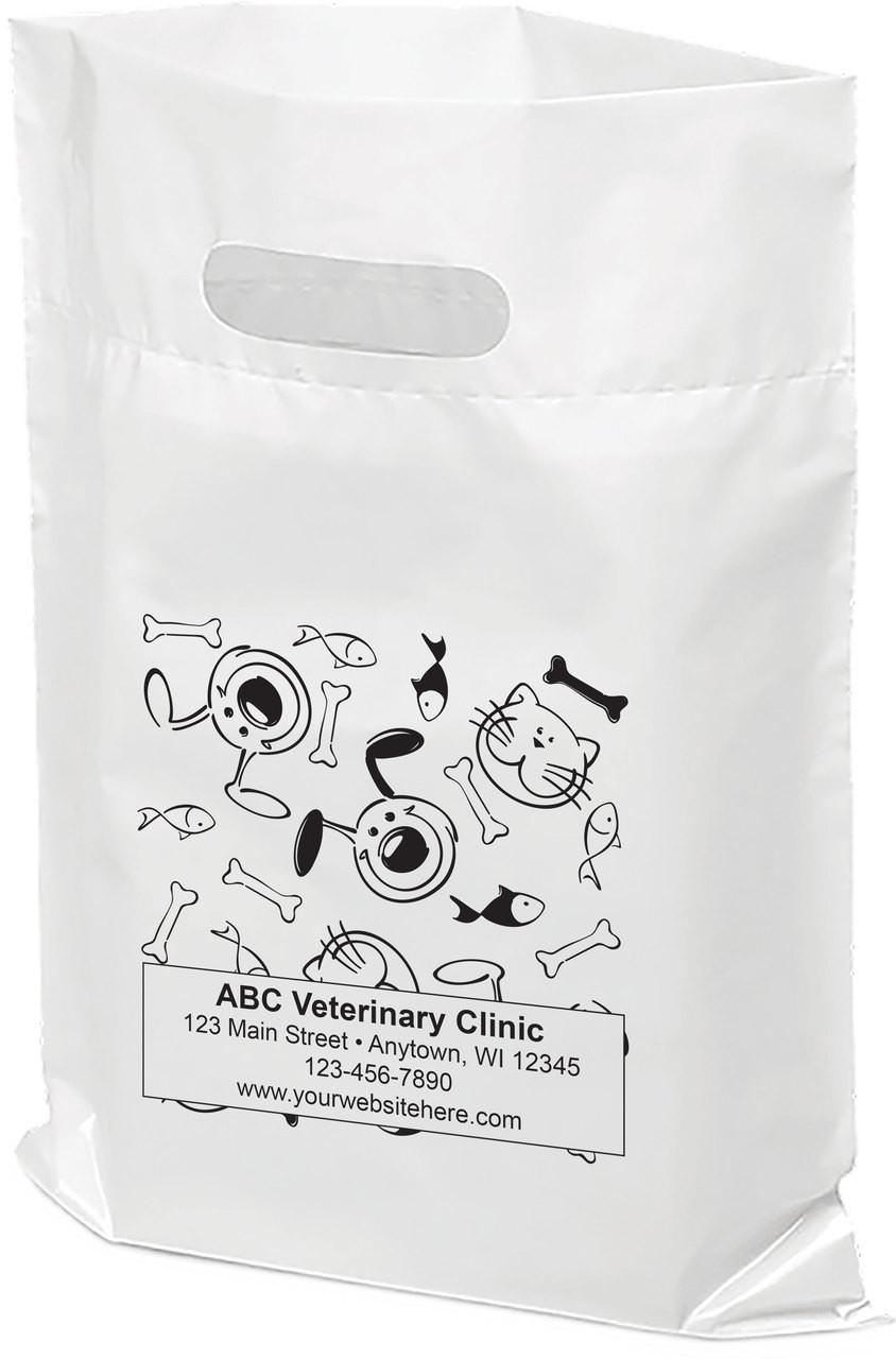 sale online cheapest price designer fashion PTS8 - Personalized Plastic Tote Bag - 9 1/2