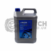 Pagid Dot4 Brake Fluid 5Ltr