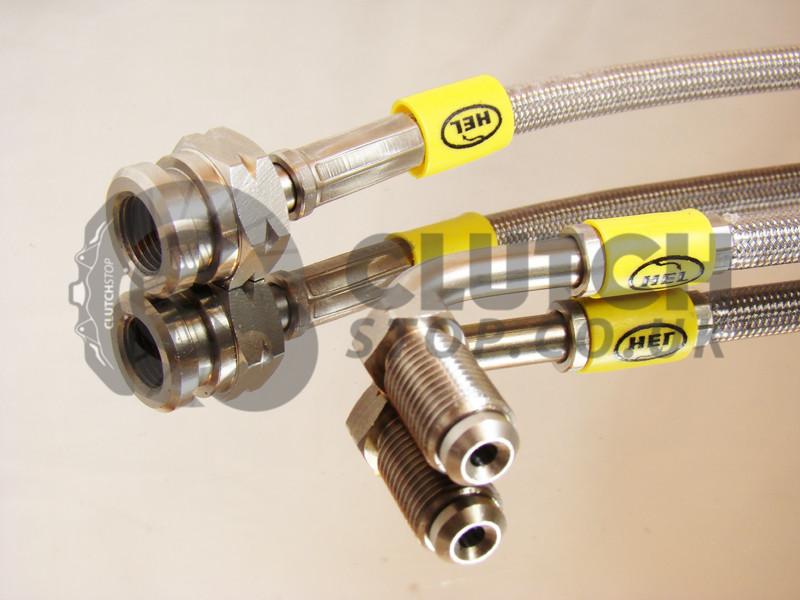 2007+ HEL Braided Brake Line Hose Kit for Audi S5 4.2FSi Models