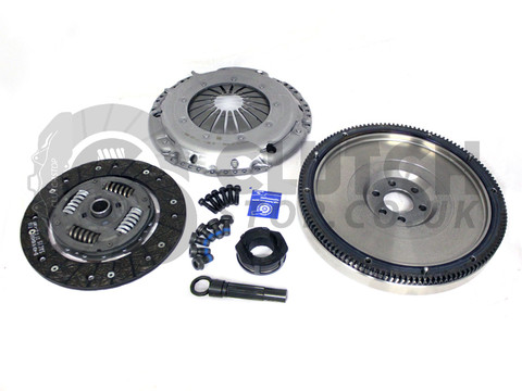 Darkside Developments SILENT Single Mass Flywheel & Clutch Kit for 5 Speed 02J-B & 6 Speed 02S (Mk5 Platform)
