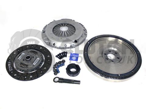 Darkside Developments SILENT G60 Single Mass Flywheel & Clutch Kit for 5 Speed 02J / 02A / 02R