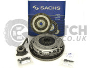 Sachs 2.0 Tdi 6 Speed 02Q Dual Mass Flywheel And Clutch Kit
