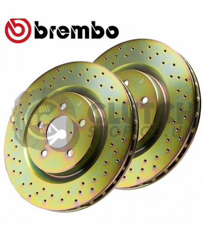 Brembo Drilled Rear discs RD178000