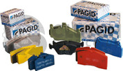Pagid E3102 Rst4 Brake Pads Front, Caterham