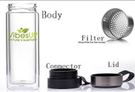 5in1 Tea, Fruit or Coffee Vibe Infuser Bottle