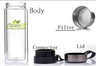 5in1 Tea, Fruit or Coffee Vibe Infuser Bottle